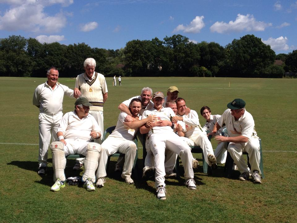 3rd XI in typically bouyant mood ahead of Greig's stag do & a match v Parkfield