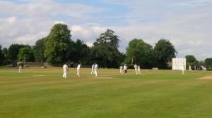 Preston batting their way to a convincing victory at Redbourn