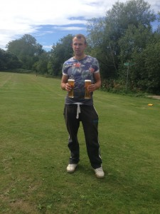 Ben Hill reacts to the news that Muzza has lost the toss against Stanmore on Sunday