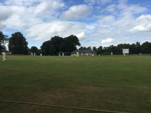 Preston batting at Winsley