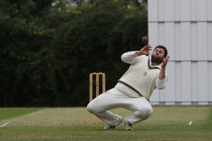 Pete Murrell against Ickleford. Picture: Danny Loo
